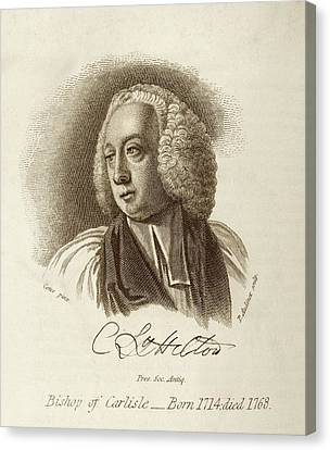 Charles Lyttelton Canvas Print by Middle Temple Library