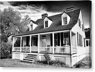 Charles Pickney House Canvas Print by John Rizzuto