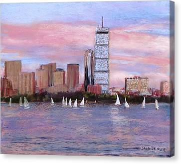 Charles River Boston Canvas Print by Jack Skinner