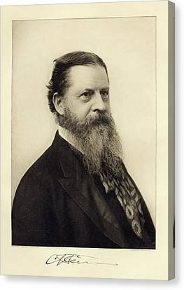 Charles Sanders Peirce Canvas Print by Miriam And Ira D. Wallach Division Of Art, Prints And Photographs/new York Public Library