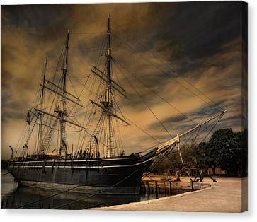 Charles W. Morgan Canvas Print