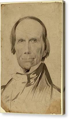 Charles Wesley Jarvis, Henry Clay, American Canvas Print