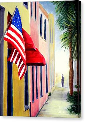 Charleston Alley Canvas Print