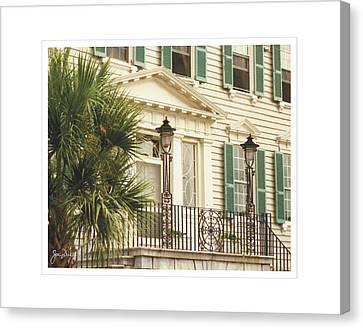 Charleston Architecture 3 Canvas Print