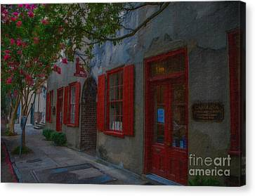 Charleston Catfish Row Canvas Print by Dale Powell