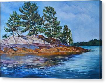 Charleston Lake  Canvas Print by Julia Pankova