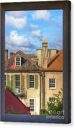 Charleston Singles Out My Window Canvas Print by Dustin K Ryan