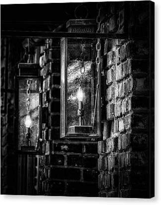 Charleston South Carolina - Lights Canvas Print