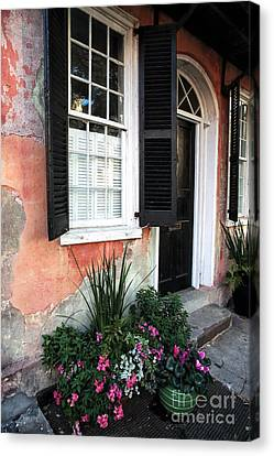 Charleston Welcome Canvas Print by John Rizzuto