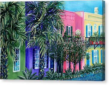 Charleston's Own Rainbow Canvas Print