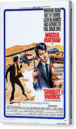 Charley Varrick, Us Poster, Walter Canvas Print