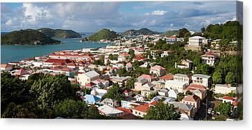 Charlotte Amalie Canvas Print by Susan  Degginger