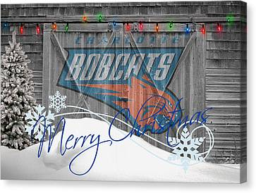 Charlotte Bobcats Canvas Print by Joe Hamilton