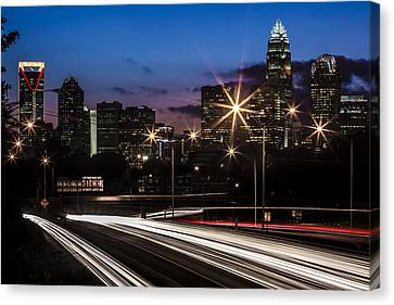 Charlotte Flow Canvas Print by Chris Austin