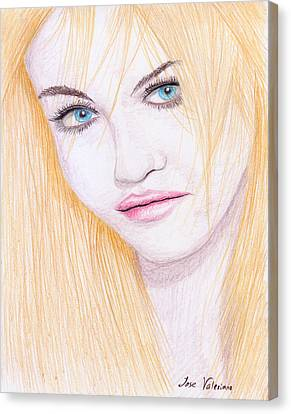 Charlotte Free Canvas Print by M Valeriano