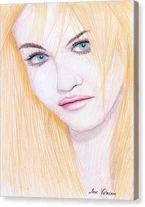 Charlotte Free Canvas Print