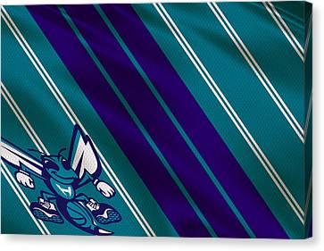 Charlotte Canvas Print - Charlotte Hornets Uniform by Joe Hamilton