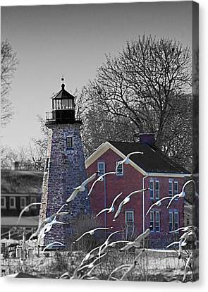 The Charlotte Genesee Lighthouse Canvas Print