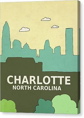 Charlotte Canvas Print - Charlotte by Lisa Barbero
