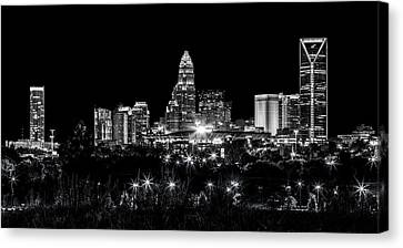 Charlotte Night Canvas Print by Chris Austin