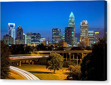 Charlotte Canvas Print by Serge Skiba