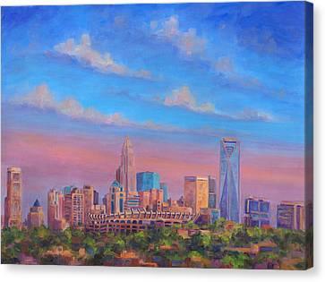Charlotte Canvas Print - Charlotte Skies by Jeff Pittman