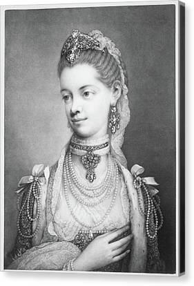 Charlotte Sophia Canvas Print