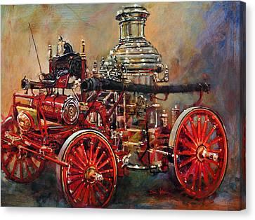 Charlotte Steamer Canvas Print by Dan Nelson