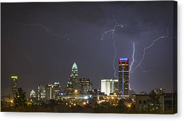 Charlotte's Storm Canvas Print by Brian Young