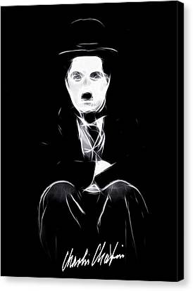 Charly The Tramp Canvas Print