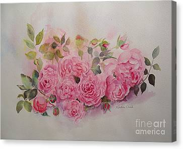 Canvas Print featuring the painting Charm by Beatrice Cloake