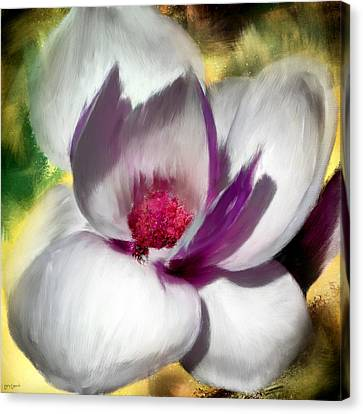 Charming Bloom Canvas Print