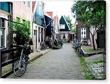 Canvas Print featuring the photograph Charming Dutch Village by Joe  Ng