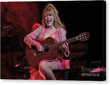 Charo Canvas Print by Concert Photos