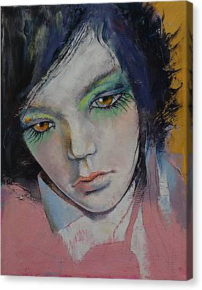 Chartreuse Canvas Print by Michael Creese