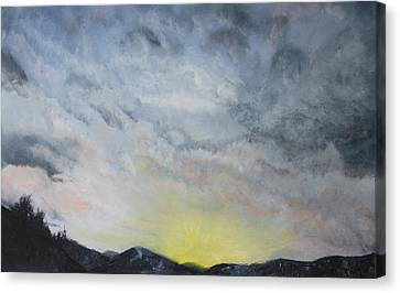 Chase Away The Dark Canvas Print by Jane Autry
