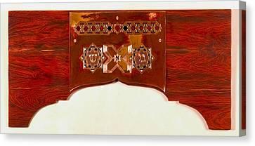 Divine Breath Canvas Print - cHashmal by Shahna Lax