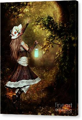 Chasing Magic Canvas Print by Shanina Conway