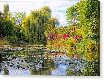 Chasing Monet Canvas Print by Olivier Le Queinec
