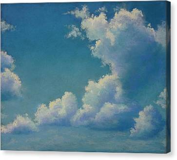 Clouds Canvas Print - Chasing by Regina Calton Burchett