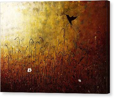 Chasing The Light Canvas Print by Carmen Guedez