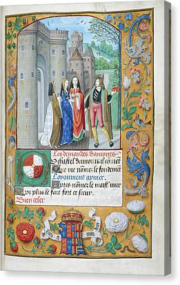 Chastel D'amours Canvas Print by British Library