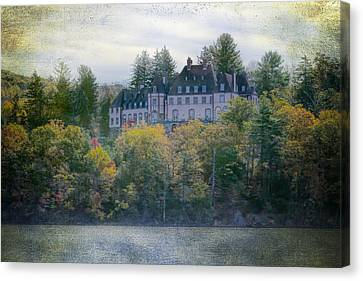 Chastellux Once Upon A Time Canvas Print by Joan Carroll
