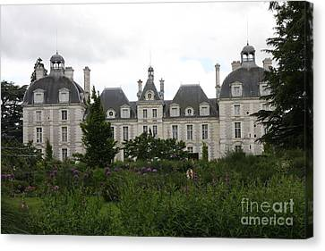 Chateau Cheverney  Canvas Print by Christiane Schulze Art And Photography