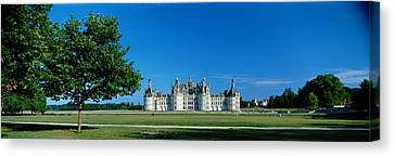 Chateau Canvas Print - Chateau De Chambord France by Panoramic Images
