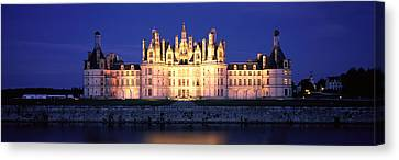 Chateau De Chambord Loire France Canvas Print by Panoramic Images