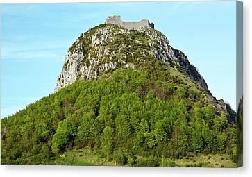 Chateau De Montsegur Canvas Print