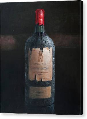 Chateau Latour Canvas Print by Lincoln Seligman