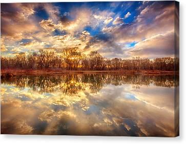Chatfield Sunrise Canvas Print