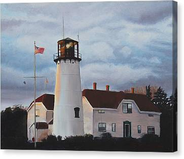 Chatham Lighthouse Canvas Print by Sue Birkenshaw